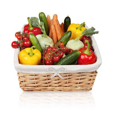 Der 8 kg Obst- und Gemüsekorb vom Obst-Lieferservice Berlin