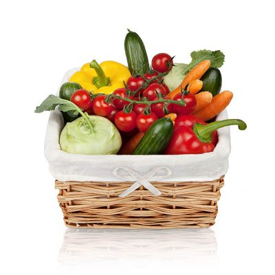 Bio-Gemüsekorb für Ihr Büro