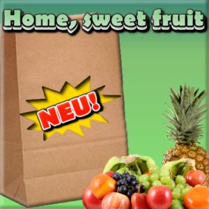 Frische Obst im Homeoffice